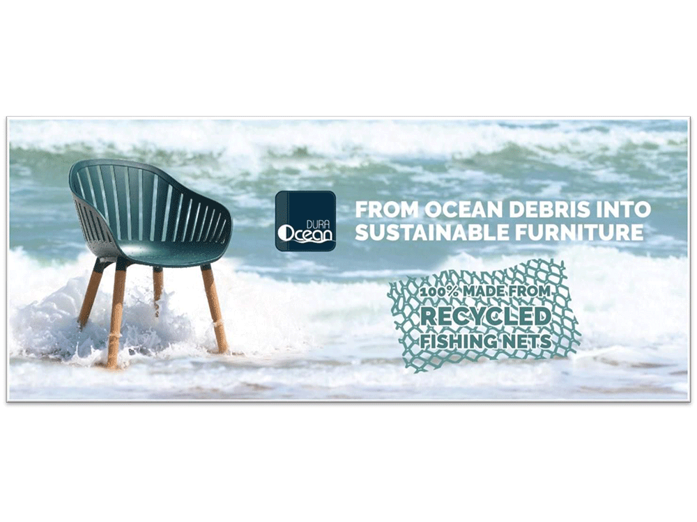duraocean recyclable dining set