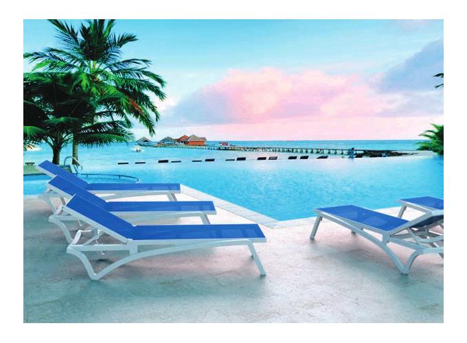 spanish deck chair pacific